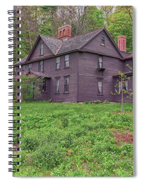Louisa May Alcotts Orchard House Concord Massachusetts Spiral Notebook