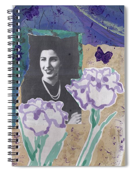 Louise In Boston 1944 In Memory Of My Mother Spiral Notebook