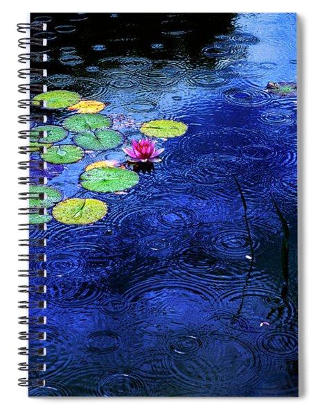 Love A Rainy Day Spiral Notebook