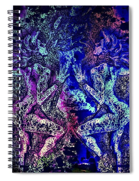 Love And Agony Spiral Notebook