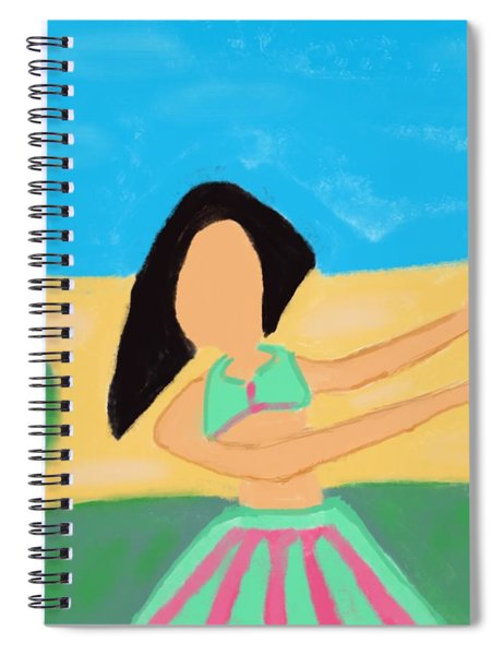 Love And Prayers To Hawaii Spiral Notebook