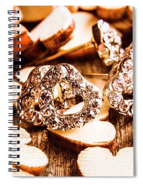 Love And The Jewellery Store Spiral Notebook