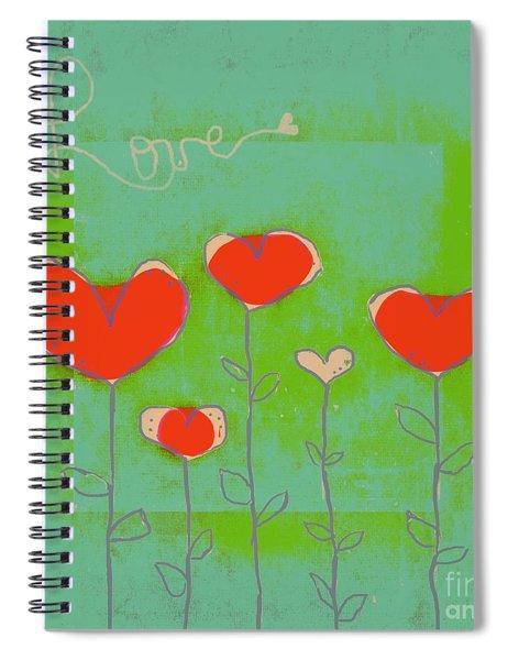 Love Art - 177abc Spiral Notebook