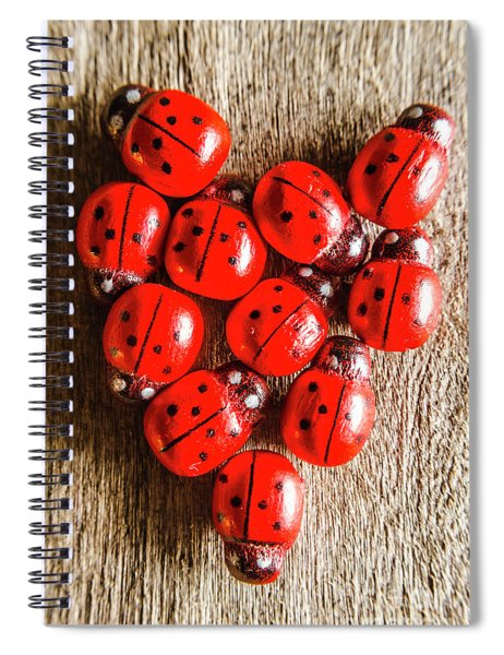 Love Bug Spiral Notebook