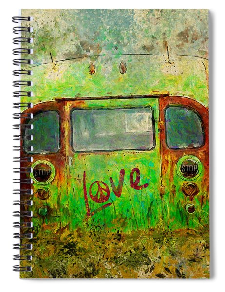 Love Bus Spiral Notebook