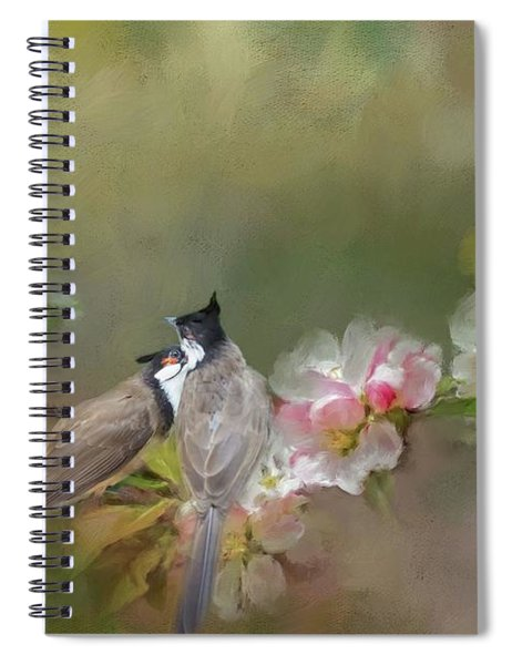 Love Couple Spiral Notebook