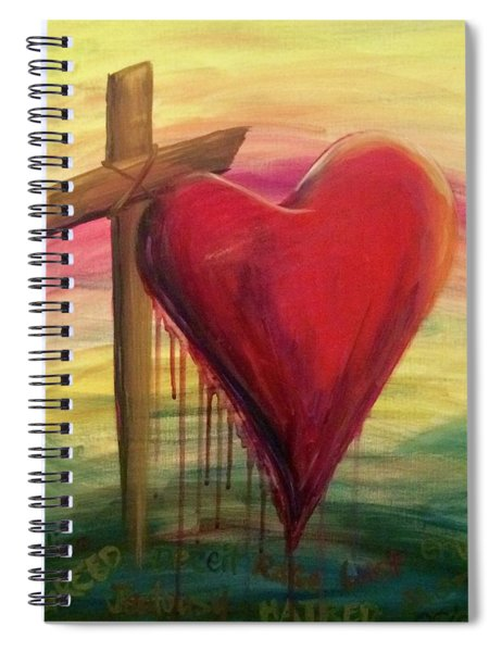 Love Covers All Spiral Notebook