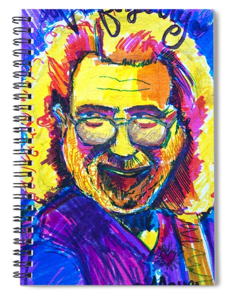 Love For Jerry Spiral Notebook