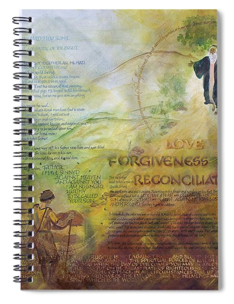Love Forgiveness Reconciliation Spiral Notebook