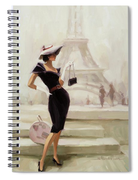 Love, From Paris Spiral Notebook
