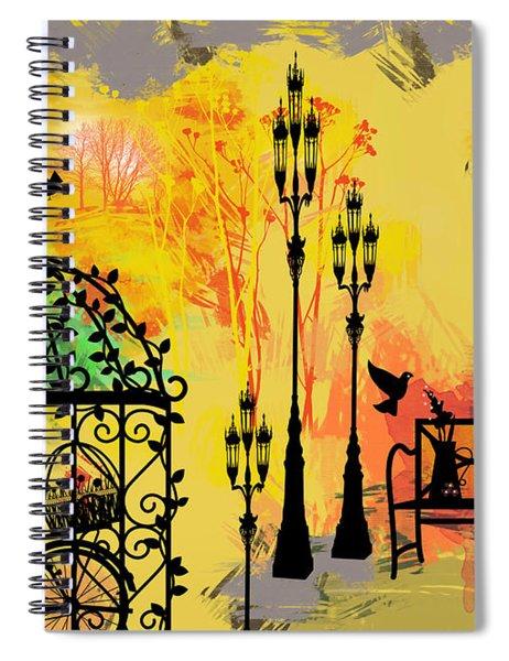 Love Garden  Spiral Notebook