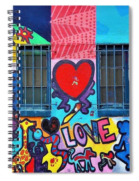 Love Haring  Spiral Notebook