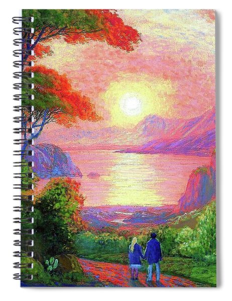 Love Is Sharing The Journey Spiral Notebook