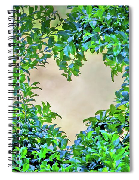 Love Leaves Spiral Notebook