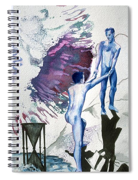 Love Metaphor - Drift Spiral Notebook