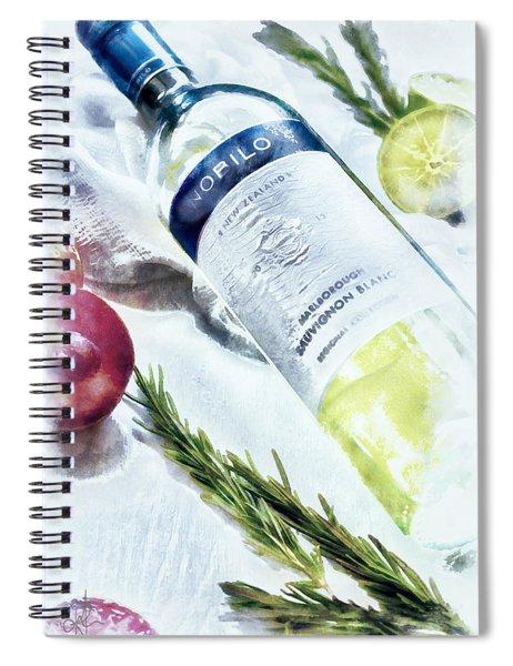 Love My Wine Spiral Notebook
