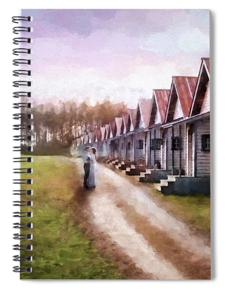 Love Never Fails - Hope Valley Art Spiral Notebook