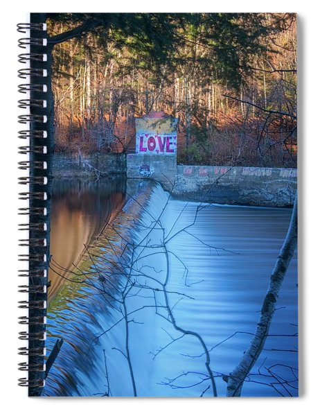 Love On The River Spiral Notebook