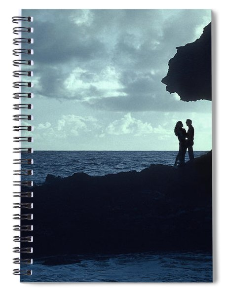 Love On The Rocks Spiral Notebook