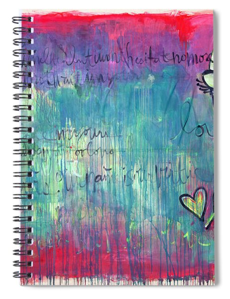 Love Painting Spiral Notebook