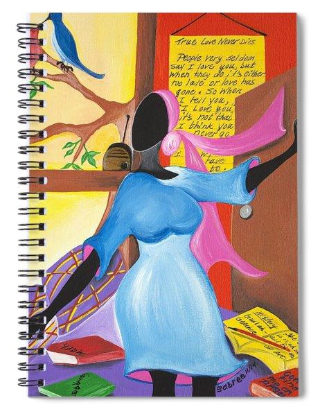 Love Song Spiral Notebook