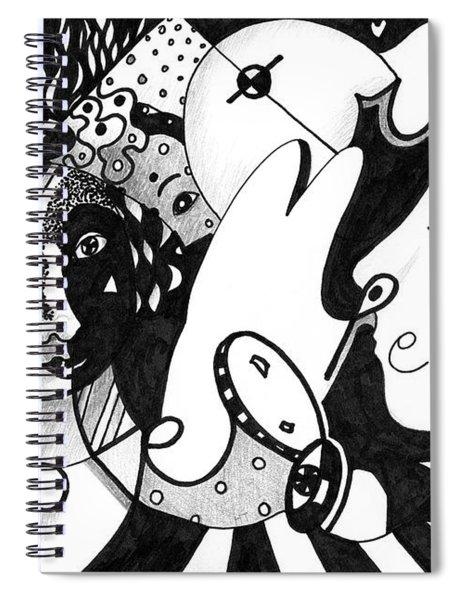 Love Truth Peace Spiral Notebook