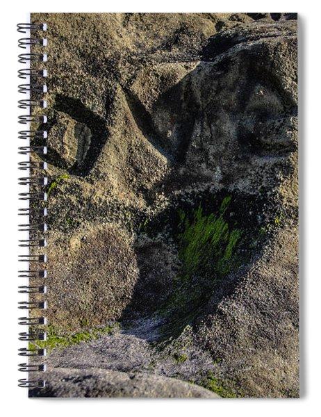 Love Written In Stone Spiral Notebook