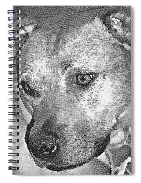 Lovely Dog Spiral Notebook