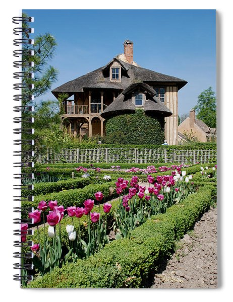 Lovely Garden And Cottage Spiral Notebook