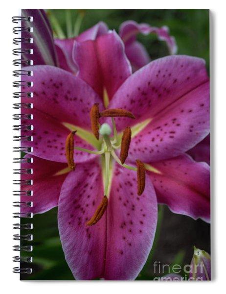Lovely Lily Spiral Notebook