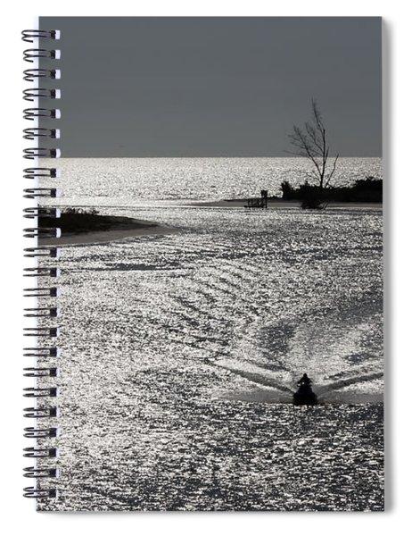 Lover's Key Sparkles Spiral Notebook