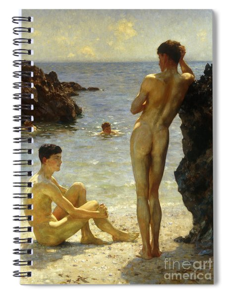 Lovers Of The Sun Spiral Notebook