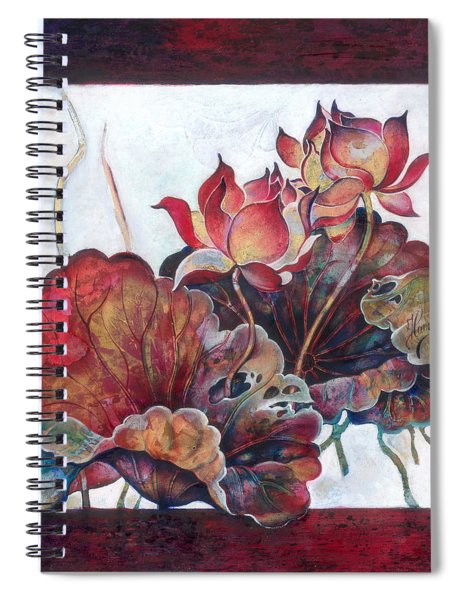 Lovers Without Memory Spiral Notebook