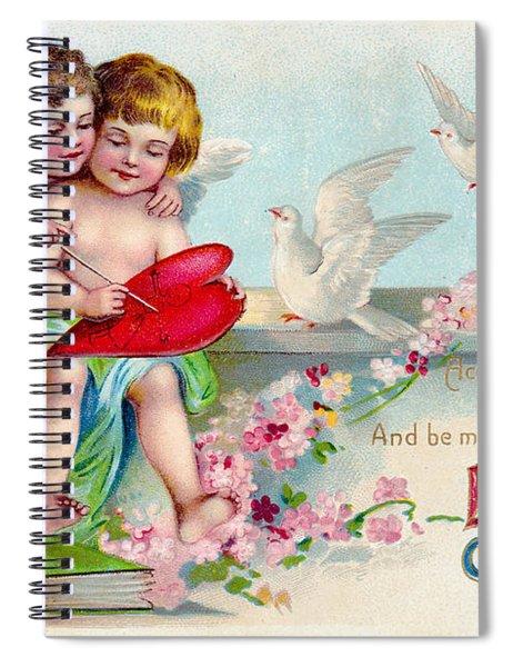 Loves Greeting Spiral Notebook
