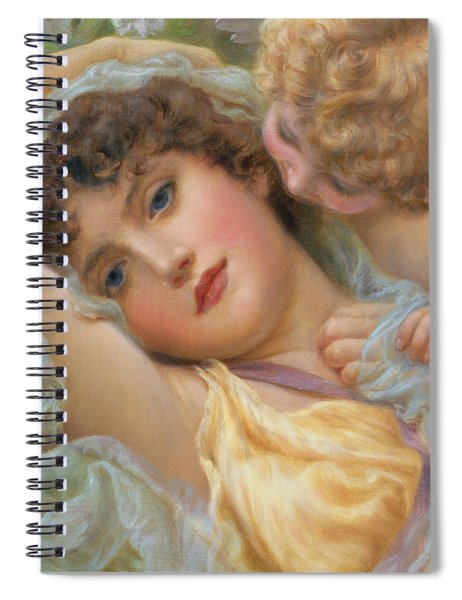 Love's Whispers Spiral Notebook