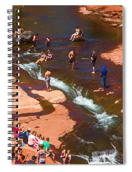 Loving Slide Rock Spiral Notebook