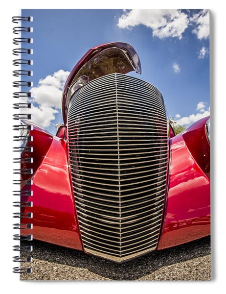 Low And Cool Spiral Notebook