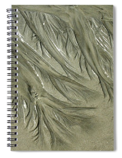 Low Tide Abstracts Iv Spiral Notebook