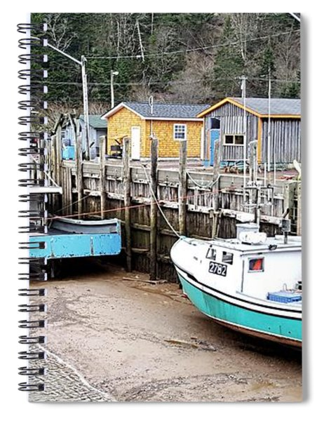 Low Tide In St. Martins Spiral Notebook