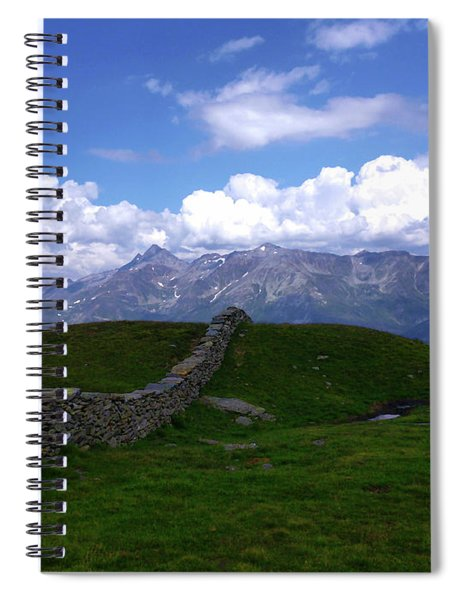 Low Wall Spiral Notebook
