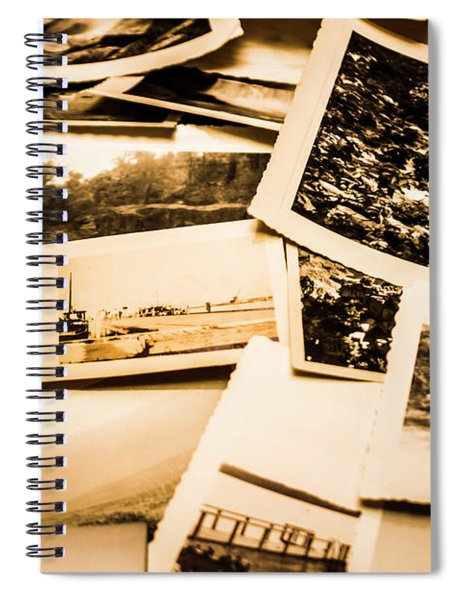 Lowdown On A Vintage Photo Collections Spiral Notebook
