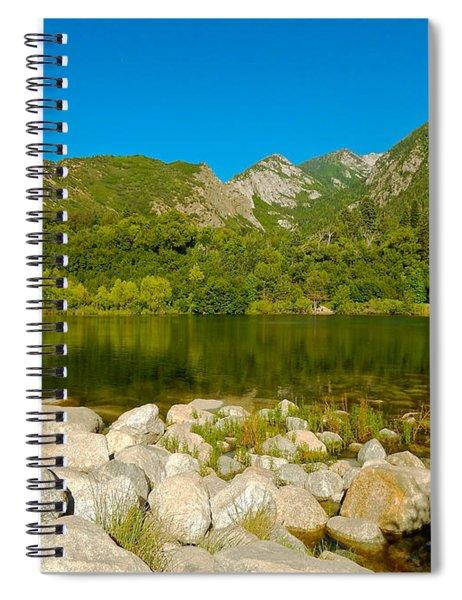 Lower Bells Canyon Reservoir Spiral Notebook