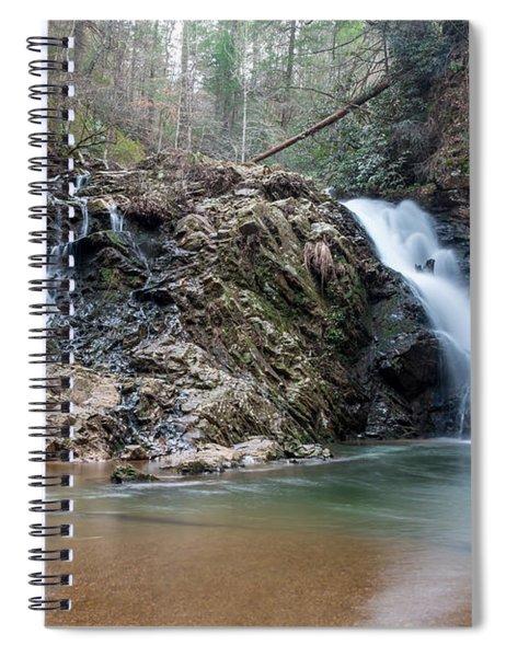 Lower Brasstown Falls Spiral Notebook
