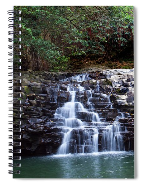 Lower Dual Falls Spiral Notebook