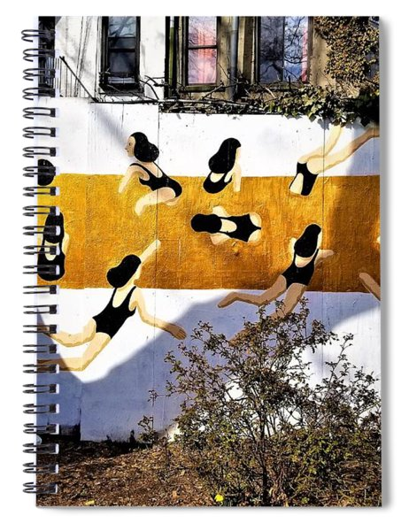 Lower East Side Smimming Hole Spiral Notebook