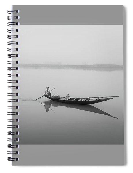 Lower Ganges - Misty Morinings Spiral Notebook