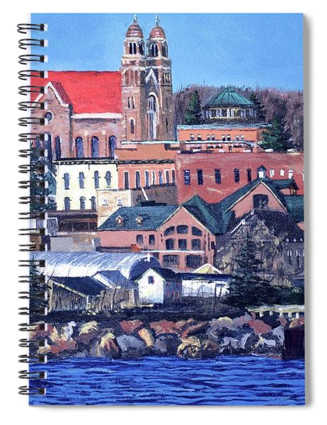 Lower Harbor-marquette Michigan Spiral Notebook
