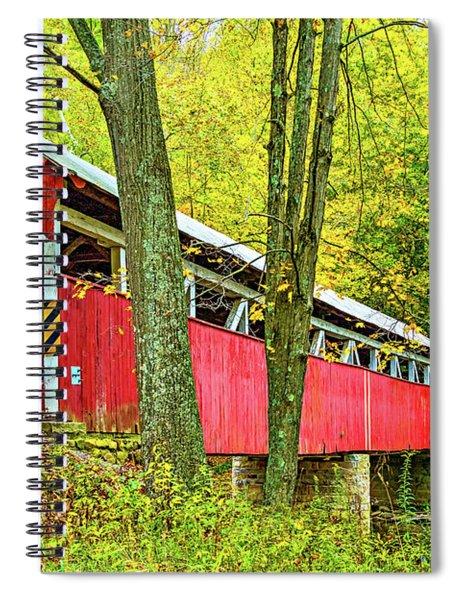Lower Humbert Covered Bridge Spiral Notebook