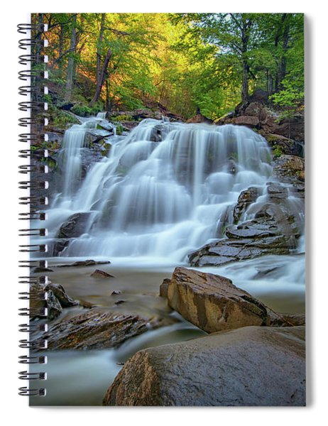 Lower Kaaterskill Falls II Spiral Notebook