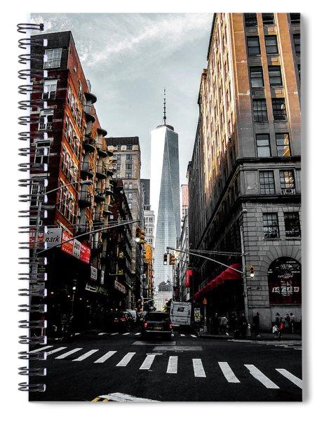 Lower Manhattan One Wtc Spiral Notebook
